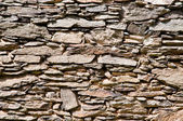 Medieval castle wall background — Stock Photo