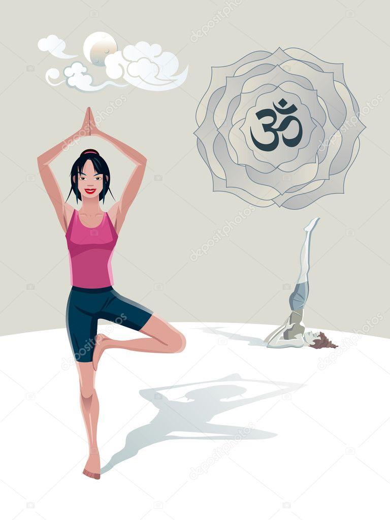 Что рисуют на йоге