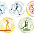 Olympic Sports Disciplines — Stock Vector