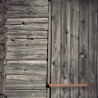 Ancient wooden wall — Stock Photo