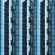 Abstract glass facade — Stock Photo