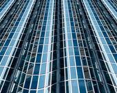 Fachada de vidro abstrata — Foto Stock