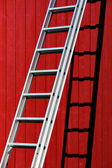 Metal ladder — Stock Photo