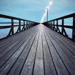 Stock Photo: Wooden pier