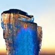 Stock Photo: Ice at sunset