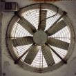Rusty fan — Stock Photo