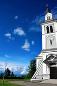 Wooden country church — Stockfoto