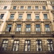 Sepia facade — Stock Photo