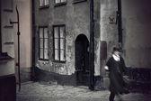 Rua medieval — Foto Stock