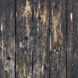 Weathered painted wood - Stock Photo
