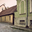 Stock Photo: Narrow street in Tallinn