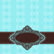 Vintage background with lace ornaments - Zdjcie stockowe