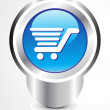 Royalty-Free Stock Vector Image: Abstract shopping cart button