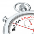 Time for Action. — Stock Photo