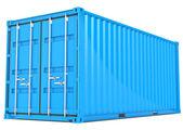 货物集装箱. — 图库照片