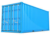 Last container. — Stockfoto