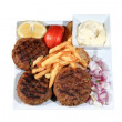Meat balls grilled — Stock Photo