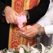 Orthodox christening - Foto Stock