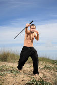 Martial arts instructor — Foto Stock