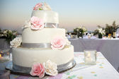 Wedding cake — Stock Photo