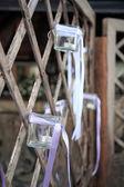 Lantern of glass — Stock Photo