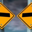 Choice Road Signs — Stock Photo