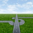 Business Success Highway — Stock Photo