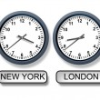 World Time Zone Clocks — Stock Photo #11012002