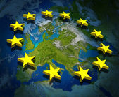 Europe and European Union — Stock Photo