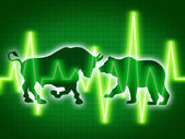 Stock Market Concept — Stock Photo