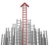 Success Arrow Ladder — Stock Photo