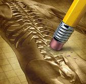 Terapia del dolor de espalda — Foto de Stock