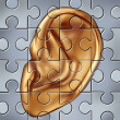 Hearing Concept — Stock Photo