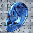 Human Ear Concept — Stock Photo
