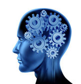 Intelligence and brain function — Stock Photo