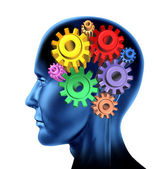 Intelligence brain function — Stock Photo