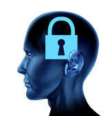 Locked Mind — Stock Photo