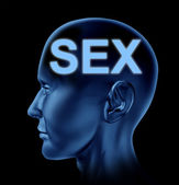 Sexual Brain — Stock Photo