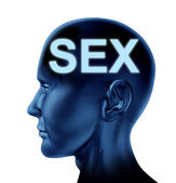 Thinking Of Sex — Stock Photo
