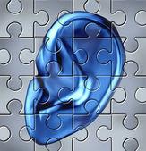 Human Ear Concept — Stock Photo