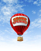 Grand Opening With a Hot Air Balloon — Stock Photo