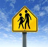 Sexuální týrání ve školách — Stock fotografie