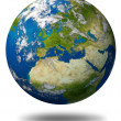 Planet Earth With Europe — Stock Photo