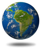 South-america-planet-earth — Stock Photo