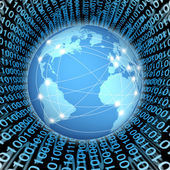 Global internet connections — Stock Photo