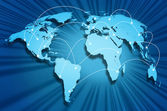 Internet globe — Stock Photo