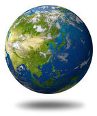 Planet Featuring Asia — Stock Photo