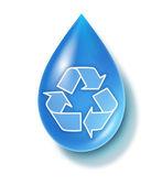 きれいな水のシンボル — ストック写真