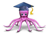 Education and Learning Character — Stock Photo