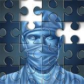 Problemi di cure mediche — Foto Stock